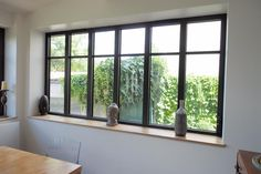 Fenêtres à la française en aluminium