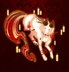 A gift for one of my dearest friends on DA Happy holidays Konveekou! Character belongs to Konveekou Gingle all the way