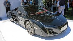 McLaren X-1 custom supercar makes its first, and only, public appearance.