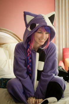 Panty and Stocking with Garterbelt: Hollow Kitty Kigurumi