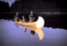 Frederic Remington, Evening on a Canadian Lake, 1905,