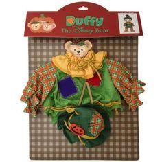 2014-Disney-Sea-Halloween-Duffy-Costume-Scarecrow-Tokyo-NEW-JAPAN-RARE
