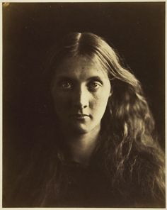 Julia Margaret Cameron  English, 1815–1879, Julia Jackson, photograped in 1867, in the collection of the Art Institute of Chicago.  I can't believe how long ago this was taken - it feels so contemporary to me.