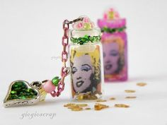 mini altered bottles 2015 | Found on giogioscrap.blogspot.it