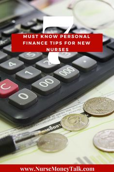 7 Must Know Personal Finance Tips for New Nurses - Nurse Money Talk Advice Nurse, New Grad Nurse, Nursing Leadership, Saving For Retirement, Retirement Savings, Just Thinking About You, Paying Off Student Loans, Household Budget, Money Talks