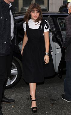 Felicity Jones from The Big Picture: Today's Hot Pics  The English actress looks chic while around town in London.