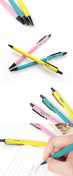 The Agenda Slim Mechanical Pencil proves that a mechanical pencil can be stylish too! No more bland and boring pencils, check out this colorful and matte finished Mechanical Pencil!