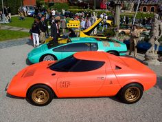Lancia Stratos HF Prototype High Resolution Image of Old Vintage Cars, Classic Sports Cars, Sport Cars, Concept Cars, Cool Cars, Automobile, Sporty, Vehicles, Design Concepts