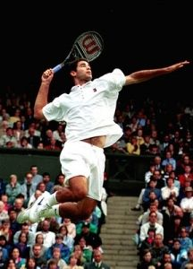 Pete Sampras Serve and Volley.