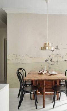Panoramique en papier-peint REMPARTS