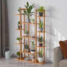 Wood Plant Stand, Plant Stands, Corner Plant, Outdoor Flowers, Flower Stands, Plant Shelves, Nature Decor, Patio, Planting Flowers