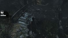 Scene from the game Tomb Raider 2013