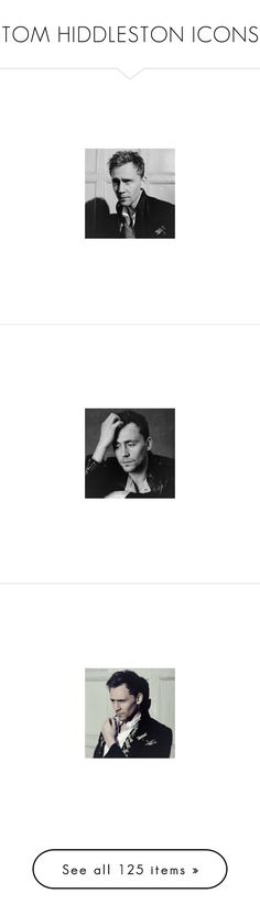 """""""TOM HIDDLESTON ICONS"""" by scarletwitchsicons ❤ liked on Polyvore featuring icons, tomhiddleston, Hiddleston, hiddles, tomhiddlestonicons, tom hiddleston, pictures, marvel and loki"""