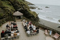 Windy Tunnels Beaches Wedding in Devon with Willow by Watters Wedding Dress and Dessy Bridesmaid Dresses by Hayley Savage Photography Dessy Bridesmaid Dresses, Wedding Dresses, Coastal Wedding Centerpieces, One With Nature, We Fall In Love, Wedding Venues, Wedding Ceremony, How To Make Light, Outdoor Ceremony
