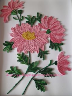 quilling my passion: quilled chrysanthemum picture