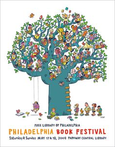 zuchinni festival posters | Philadelphia Free Library\'s Book Festival