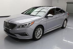 Nice Great 2015 Hyundai Sonata  2015 HYUNDAI SONATA LIMITED PANO ROOF NAV REAR CAM 37K #052544 Texas Direct Auto 2018