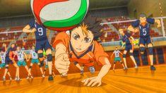 Nishinoya Libero (^O^)/ Haikyuu Nishinoya, Hinata Shouyou, Haikyuu Anime, Anime Guys, Manga Anime, Fanart, Haikyuu Wallpaper, Aesthetic Anime, Anime Characters