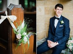 An English rose and her pastel colour, Summer wedding at Hendon Hall. Photography by Dominique Bader.