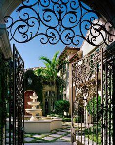 Boca Raton Villa   Carraway  Associates Architects