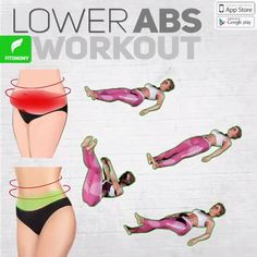 Transform your midsection into a hard and defined six-pack with these four-move sessions that hit your lower abs and obliques hard. Be ready to feel that 6 pack ab burn 🔥 Fitness Workouts, Gym Workout Videos, Fitness Workout For Women, Lower Ab Workouts, Body Fitness, At Home Workouts, Morning Ab Workouts, Fitness App, Health Fitness