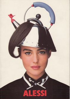 wandrlust:  Monica Bellucci for Alessi