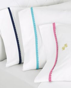 Lilly Pulitzer® Ruffle Me Percale Bedding; To match my fun Spring time sheets