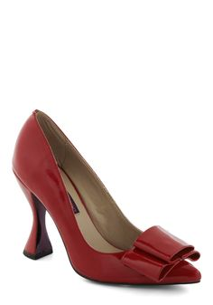 Goblet of Glamour Heel in Red, #ModCloth