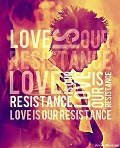 """Love is our resistance"" ♡ Matt Bellamy - Muse lyrics"