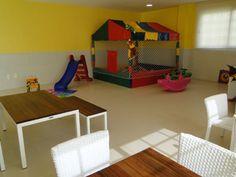 As crianças vão adorar o salão de festas infantil