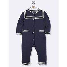 Nautical Inspired All-In-One CYRILLUS - All in Ones & Dungarees