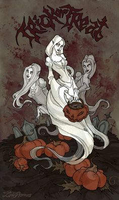 (Music: Inkubus Sukkubus – Samhain) Happy Halloween, guys!I wish you'll have a wonderful time How are you going to celebrate Halloween this year? Pigmented ink fineliner, wa...