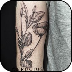 etching tattoo flower - Google Search