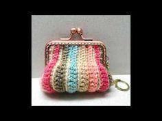 Marvelous Crochet A Shell Stitch Purse Bag Ideas. Wonderful Crochet A Shell Stitch Purse Bag Ideas. Crochet Wallet, Crochet Coin Purse, Bag Crochet, Crochet Shell Stitch, Crochet Handbags, Crochet Purses, Love Crochet, Crochet Designs, Crochet Tote