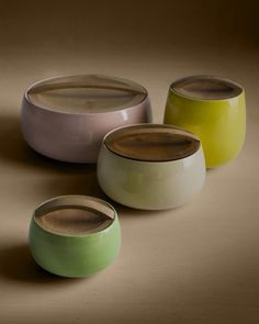 ceramic container with wooden lid and handle  HR Home | Helena Rohner