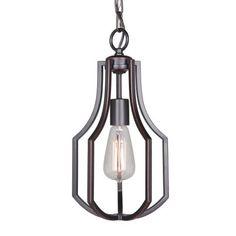 "Craftmade 40091 Hayden Single Light 8"" Wide Single Pendant"