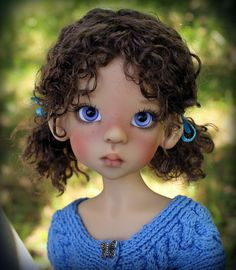Kaye Wiggs BJD MSD Human Sankissed Layla - Wow!  Sooooo sweet!  Sometimes her dolls can look trashy (almost whorish!)  But this one is sweet!