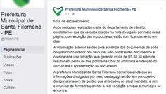 """Gestão de Cleomatson contradiz: """"Os veículos da Prefeitura estão com licenciamentos em dia"""""""