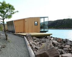 Manshausen Island resort is a Product Launch Venue in Nordland, Norway. See photos and contact Manshausen Island resort for a tour. Minimalist Architecture, Architecture Details, Modern Architecture, Small Buildings, Modern Buildings, Cute Small Houses, Arched Cabin, Timber Cabin, Getaway Cabins