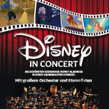 Disney In Concert // 02.07.2016 - 04.12.2016  // 02.07.2016 19:00 BERLIN/Waldbühne Berlin // 29.10.2016 18:00 LEIPZIG/Arena Leipzig // 02.12.2016 19:00 STUTTGART/Hanns-Martin-Schleyer-Halle // 03.12.2016 18:00 FRANKFURT/Festhalle Frankfurt // 04.12.2016 17:00 NÜRNBERG/ARENA NÜRNBERGER VERSICHERUNG