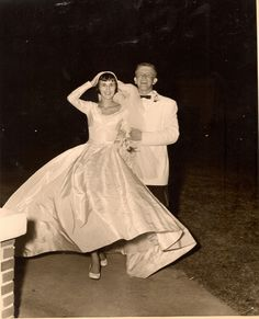 Vintage 1955 Wedding