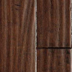 Major Brand - x Fengtai Strand Handscraped Bamboo. I love the durability of bamboo! Caron Lummus Liquidators We have dark bamboo in the new house. Narrow Living Room, Basement Inspiration, Design Inspiration, Doors And Floors, Lumber Liquidators, Dark Wood Stain, Floor Finishes, Floor Rugs, Home Remodeling
