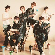 Boyfriend kpop Boyband Love my favorite kpop group