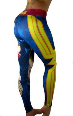 S2 Activewear - Wonder Woman Amazon Warrior Leggings - Roni Taylor Fit  - 3