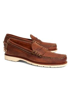 3c800bc561f Men s Red Wing Copper Mini Lug Penny Loafers