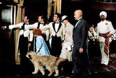 Aileen Quinn, Ann Reinking, Albert Finney, Geoffrey Holder in Annie (1982)