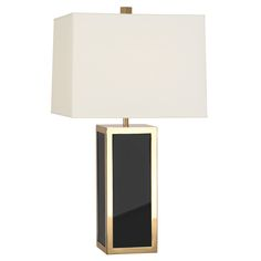 Jewelry for Your Home.Glossy panels of acrylic encased in brass frames with chic perforated metal diffusers, our Barcelona Table Lamp adds gem-like glamour to any room. Swank up your Soho loft, harmonize your Brooklyn townhouse or modernize your Park Avenue pad.Discover the entire Barcelona Collection.