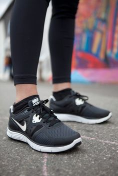 buy popular b06e1 819c9 Simple black Nike Frees are a must have for every active girl s wardrobe.  Cheap Nike Shoes for Women