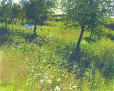 Richard Thorn Richard Thorn  Orchard Gold  Limited Edition Print  Image Size 520mm x 415mm
