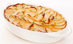 Knolselderij-aardappelgratin: http://www.gezondheidsnet.nl/wat-eten-we-vandaag/knolselderij-aardappelgratin #recept #koken #watetenwevandaag